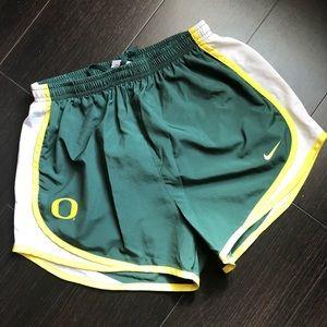 NIKE DRY FIT UO UNIVERSITY OF OREGON shorts